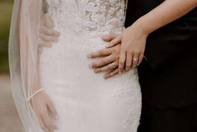 Wedding ring photograph ideas