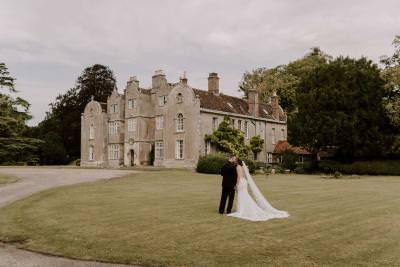 Sweeping lawns wedding photo inspiration Edmondsham House