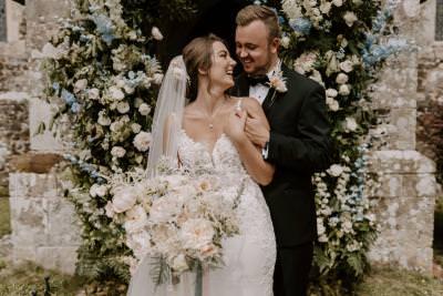 Luxury wedding flower arch inspiration