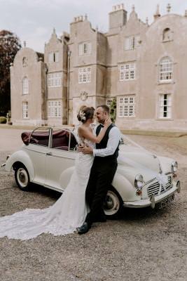 Vintage wedding transport Dorset