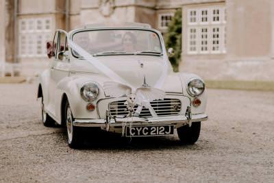 Classic wedding car ideas