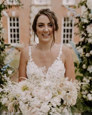 Natural bridal wedding makeup looks