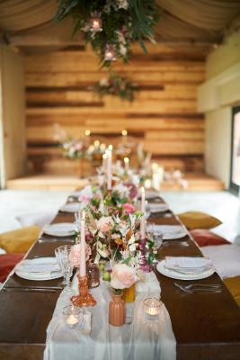 Tablescape - wedding boho styling inspiration