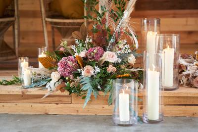 Top table wedding styling and decoration