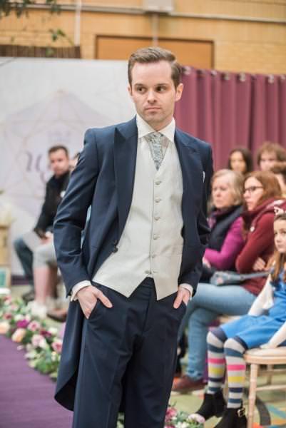 Wedding Fashion Show Suits & Menswear & Wedding Dresses