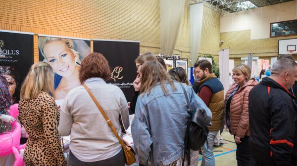 Meeting wedding suppliers at our wedding fairs