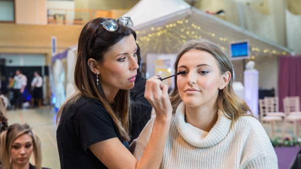 Wedding Show Fashion Show Makeup